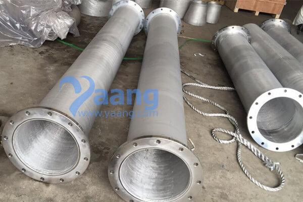 UNS31803 F51 Duplex Steel Pipe Spool DN300 Sch40