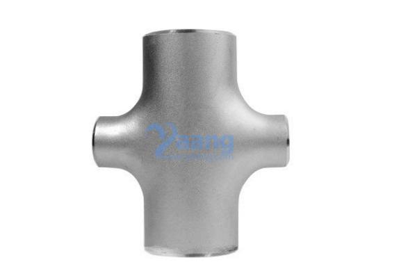 ASME B16.9 ASTM A403 304L Reducing Cross 2 Inch – 1 Inch Sch40S
