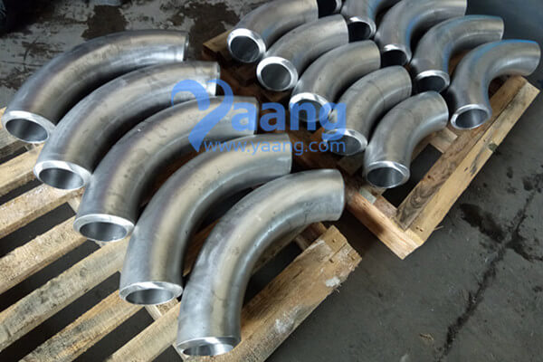 "asme b16 9 astm a815 uns s32750 90 degree 3d bend 4 sch160s - ASME B16.9 ASTM A815 UNS S32750 90 Degree 3D Bend 4"" SCH160S"