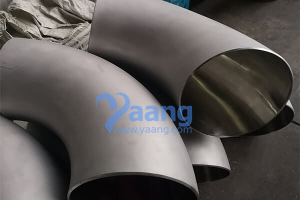 ANSI B16.9 ASTM B366 Alloy 718 90 Degree Seamless Long Radius Elbow Mirror Polishing DN400 SCH40S