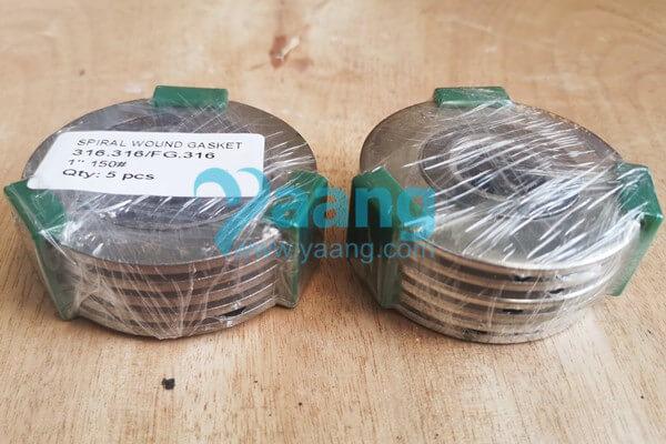 ASME B16.20 316.316/FG.316 Spiral Wound Gasket 1 Inch CL150