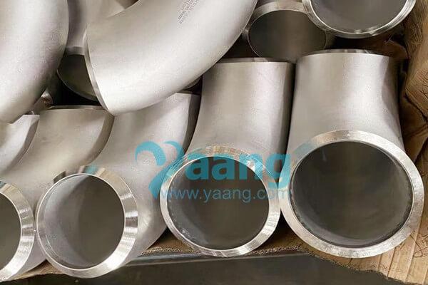 ASME B16.9 ASTM B366 UNS NO8825 Seamless 90 Degree LR Elbow OD 219.1 X 18.26MM